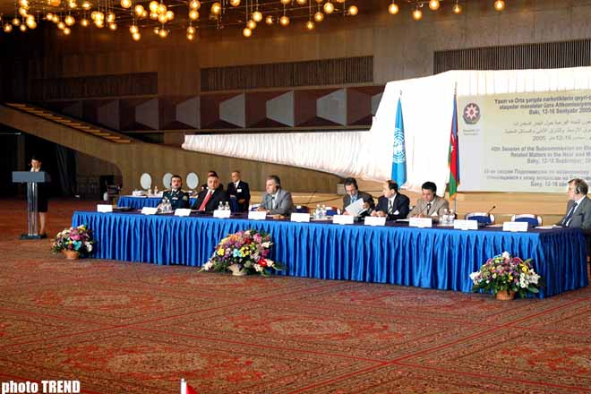 AZERBAIJAN TO PUT FORWARD AT UN ISSUE ON ILLEGAL DRUG PLANTING IN ITS TERRITORY UNDER OCCUPIED