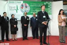 BIHE 2005 International Health Exhibition opened in Baku - Gallery Thumbnail
