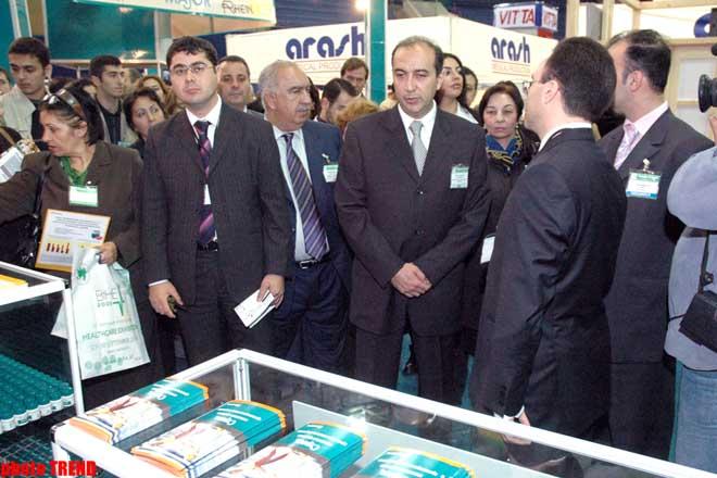 В Баку начала работу международная выставка по здравоохранению BIHE-2005 - Gallery Image