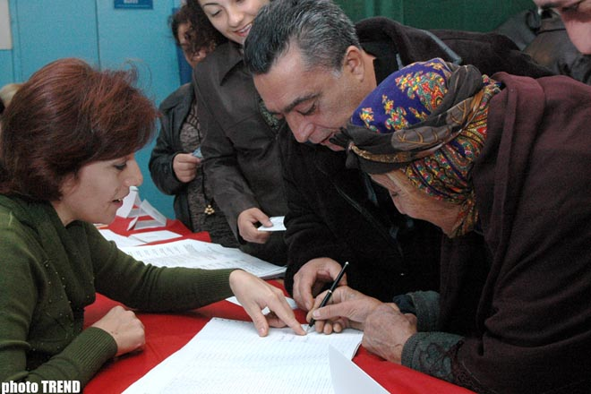 Parliamentary elections start in Azerbaijan - Gallery Image