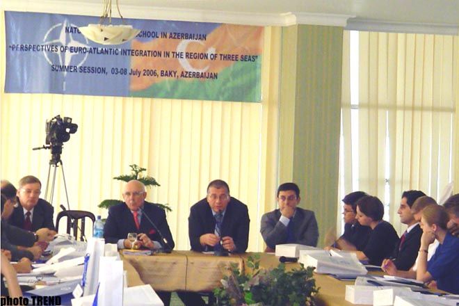 В Баку начала работу летняя сессия международной школы HАТО в Азербайджане