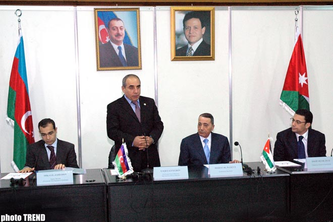 Jordan is Interested in Developing Commercial and Economic Relations with Azerbaijan  Jordanian Prime Minister