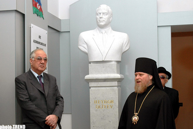Services of Ex-Azeri President in Strengthening Tolerance is Invaluable  Head of State Committee - Gallery Image