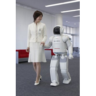 Honda Asimo Humanoid Robot debuts in the U.S. during the 2007 CES