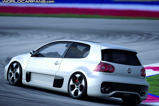 VW Golf GTI W12 650 concept unveiled - Gallery Image