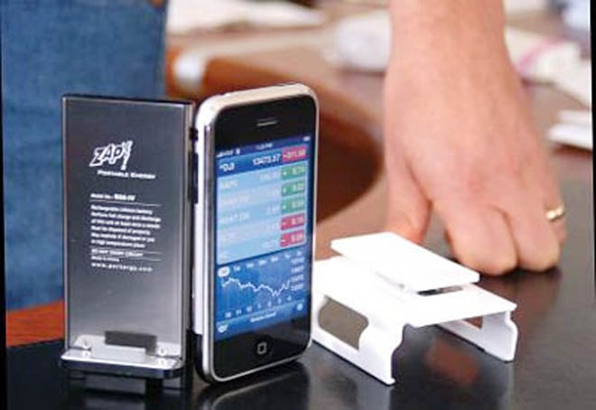 iZAP Portable Power for the Apple iPhone