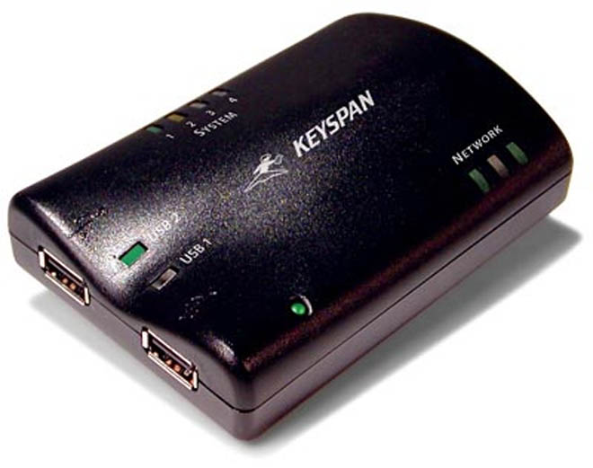 Share USB 2.0 Devices Over a WiFi Network