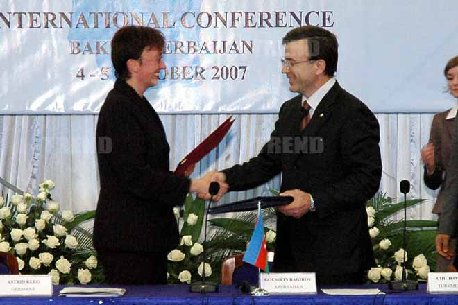 Azerbaijan and   Germany Sign MOU