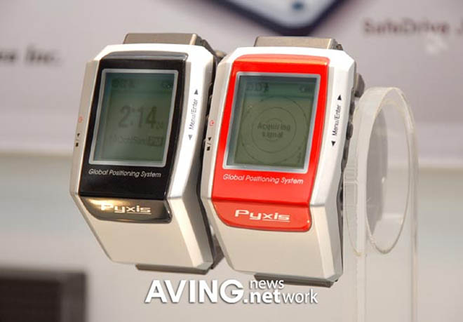"""Pyxis GPS Watch Lets You Enjoy """"Leisure Sports to the Full"""""""