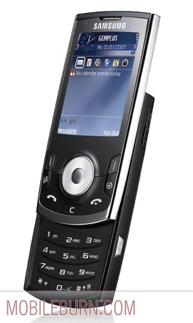 Samsung SGH-i560 GPS-smartphone introduced at Symbian Smartphone Show