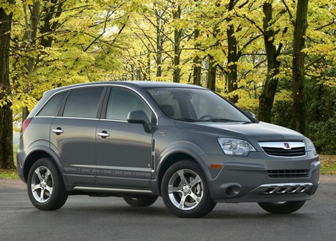2008 NAIAS: 2009 Saturn Vue Green Line 2 Mode Hybrid - Gallery Image