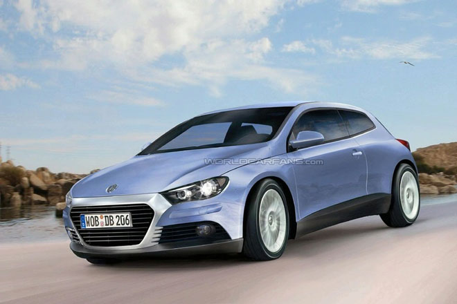 Volkswagen Scirocco GT24 concept: first pictures - Gallery Image