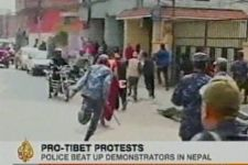 Dozens arrested during anti-Chinese demonstrations in Kathmandu - Gallery Thumbnail