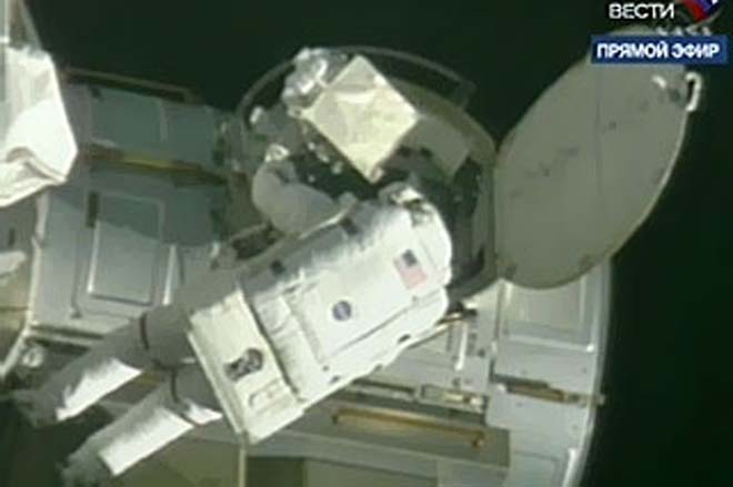 The undocking shuttle Endeavour was delayed