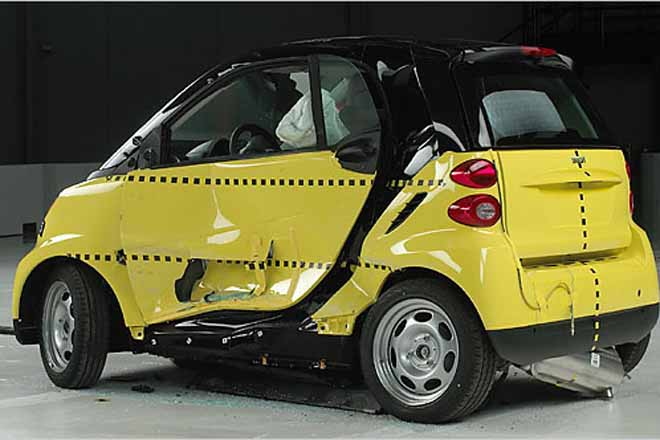 Another Smart Crash Test, Same Result