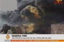At least 100 killed in   Nigeria oil pipeline fire (video) - Gallery Thumbnail