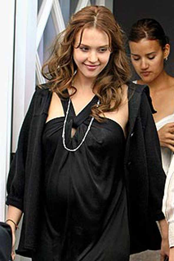 Jessica Alba: Getting Ready for Baby