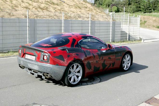 SPY PHOTOS: Alfa Romeo  8C Competizione - Gallery Image