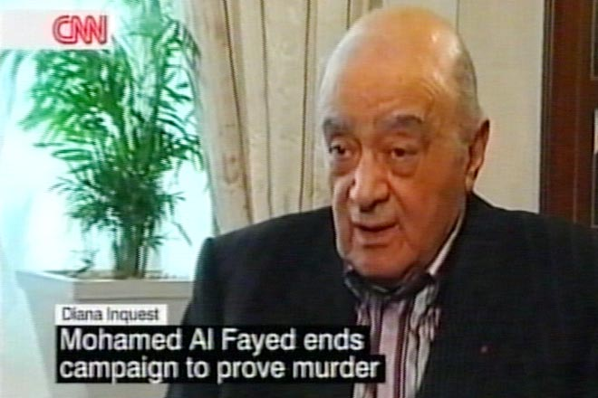 Al-Fayed says accepts Princess Diana verdict (video) - Gallery Image
