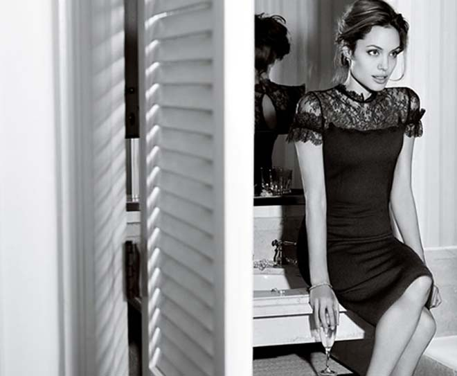 Angelina Jolie adopts classic Old Hollywood look in stunning new ad campaign