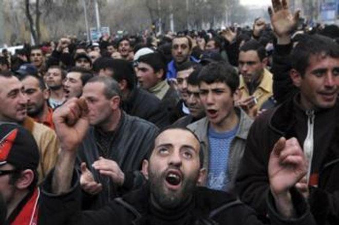 В Ереване состоялся митинг оппозиции