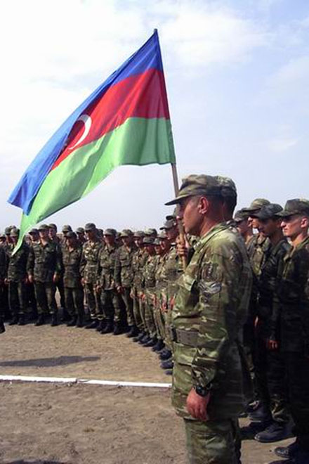 Special curfew for Azerbaijani military due to heat