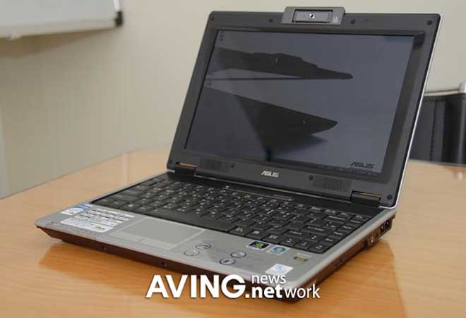 Asus F9J notebook is slim, small, and graphical