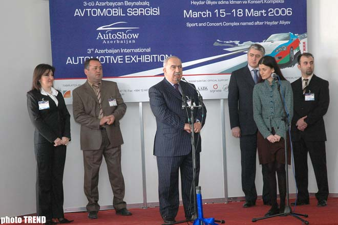 Increase in number of exhibitions in Azerbaijan testify for rise of economic growth  Mehman Ahmadov - Gallery Image
