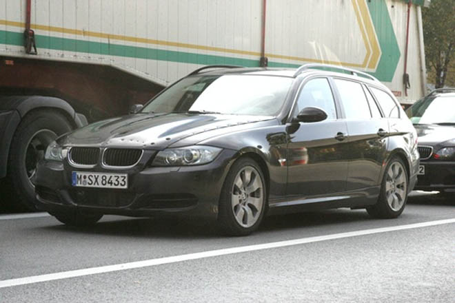 SPIED: BMW 3-Series Touring Wagon - Gallery Image