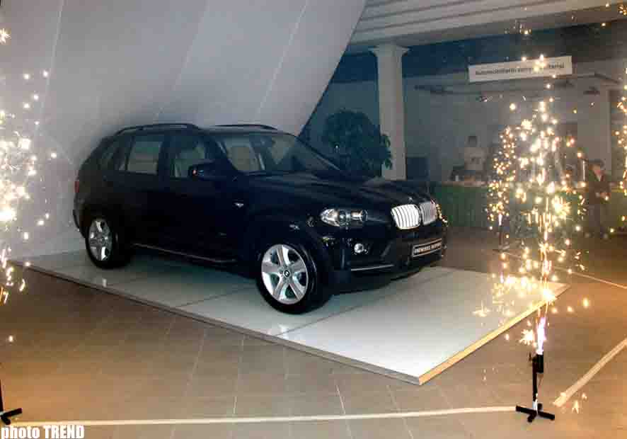 Imrotex Motors Presents New BMW X5 in   Baku