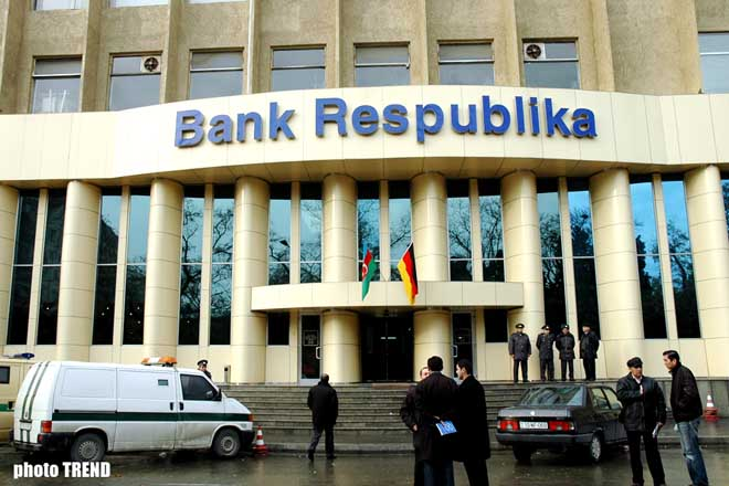 Sappers are Working in Bank Respublika
