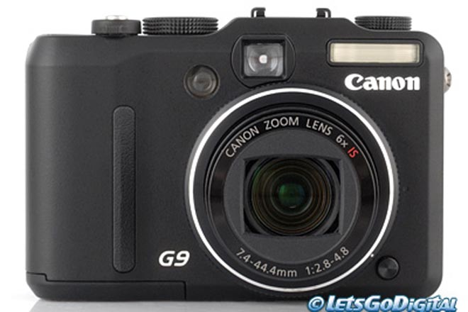 A quick look at the new Canon PowerShot G9