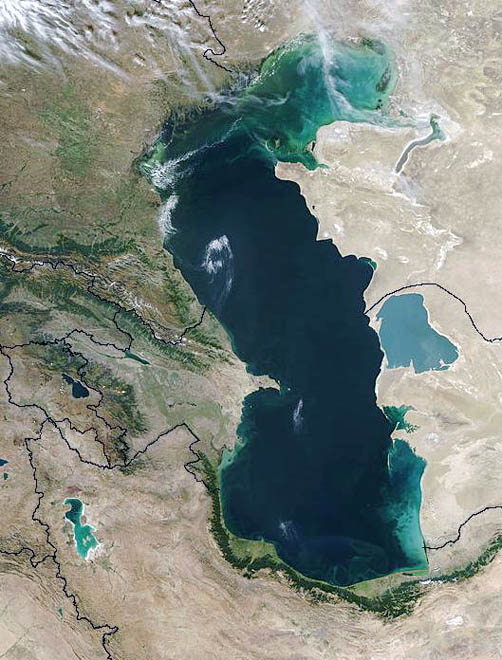 Caspian Sea security problem related to its legal status - expert