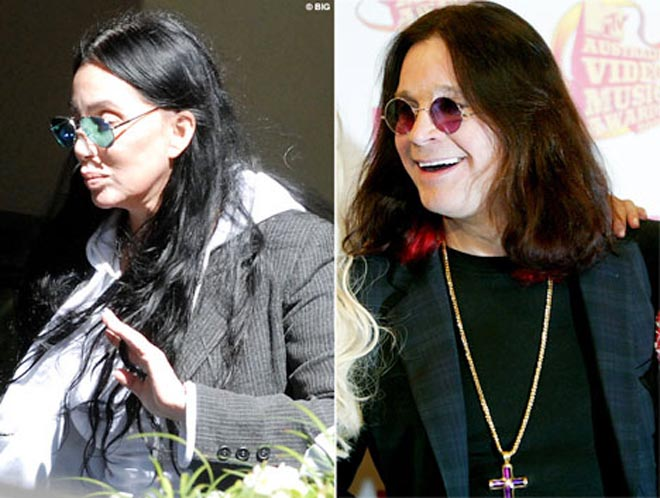 No make-up leaves Cher looking just like... Ozzy Osbourne
