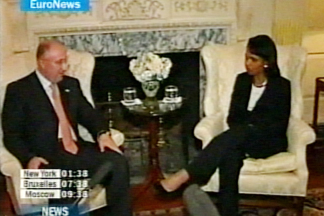 Georgian Foreign Minister, Rice Discuss Bilateral Relations  (video) - Gallery Image