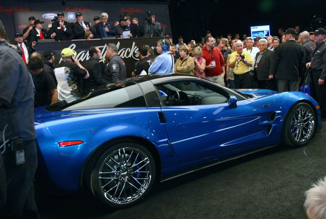 First Corvette ZR1 Auctions for Cool Million Red hot Blue Devil - Gallery Image
