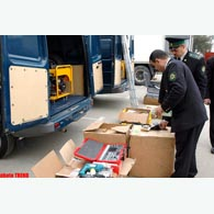 Azerbaijani customs officers seized over 13 kg poor coffee produced in Armenia in 2009