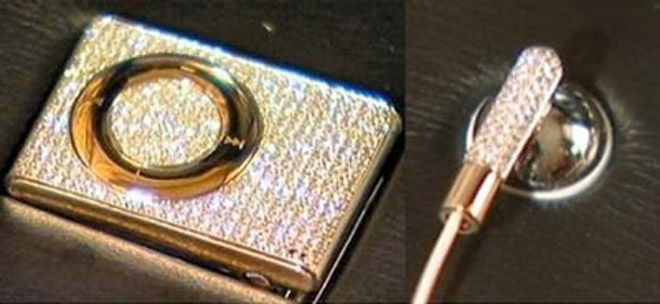 Ultra-Bling iDiamond iPod Shuffle Goes Up For Auction