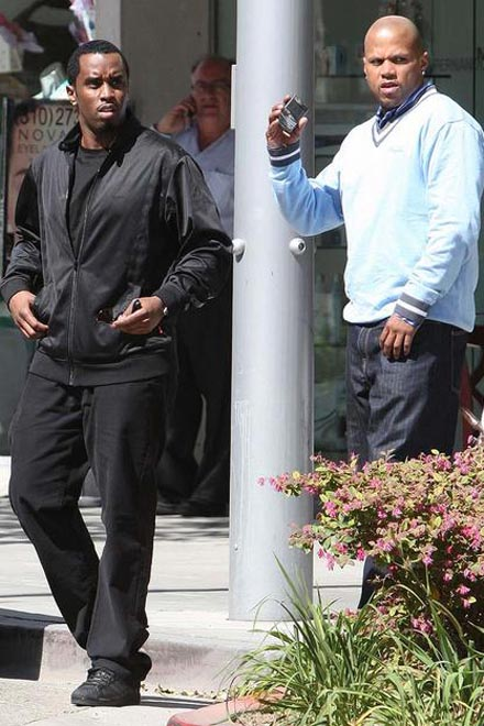 Diddy Goes Hollywood