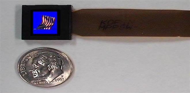 CES 2008: Kopin claims smallest color SVGA display - Gallery Image