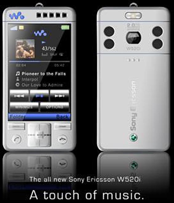 Sony Ericsson W520i Concept Has Got The Touch