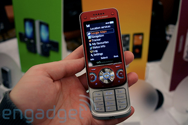 Hands-on with Sony Ericsson's W760