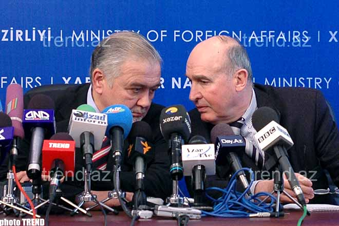 French Co-chair of OSCE Minsk Group Considers that   Azerbaijan and Armenia Should be Partners