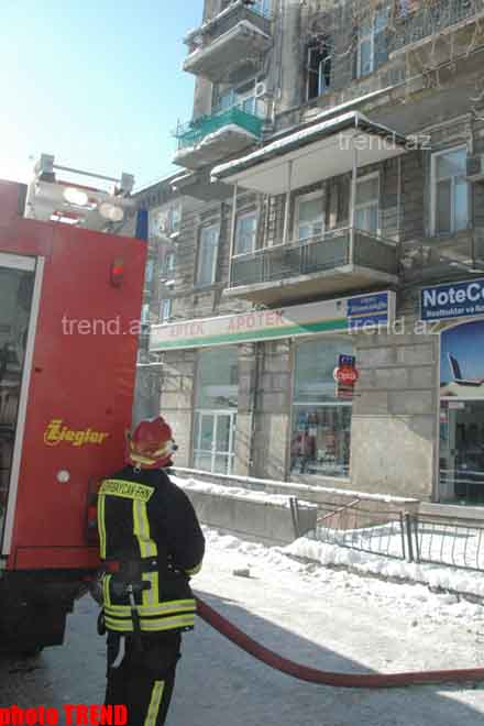 Apartment of French Embassy Official in Blaze in Baku - edited (video) - Gallery Image