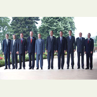 Foreign Ministers of great eight urged Baku and Yerevan to reach agreement on