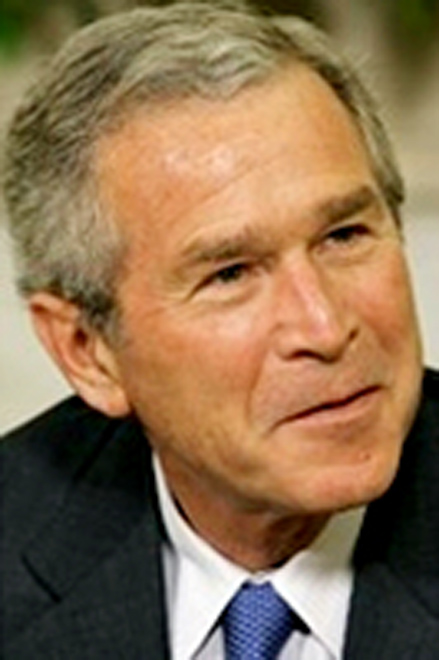 "Bush calls Iranian leadership ""big disappointment"""