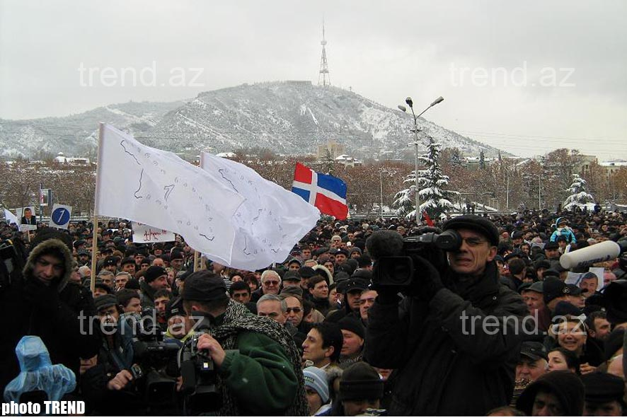 Demonstration of   Opposition Took Place in Georgia – Photo-session - Gallery Image