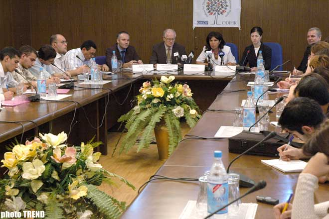 HEAD OF OSCE OBSERVATION MISSION ELABORATES ON THEIR ACTIVITIES - Gallery Image