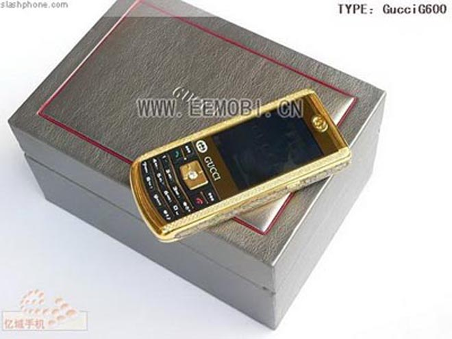 Fake Gucci Phone Gets Wrapped Up In Fake Gold