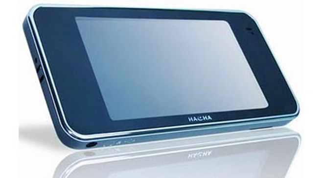 Hacha PC20 PMP: Looks Like iPhone, Could Even Be Thinner